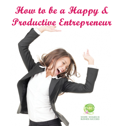 Happy Productive Entrepreneur