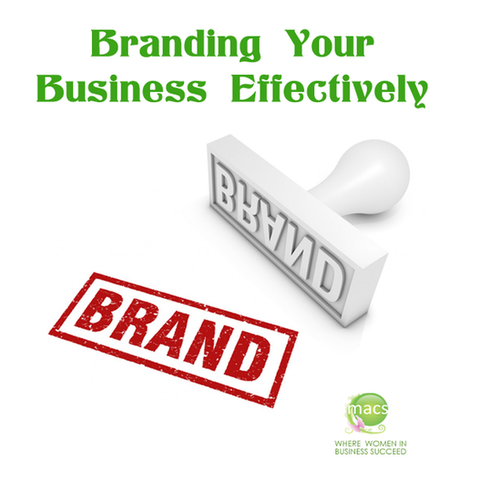 Branding your business effectively