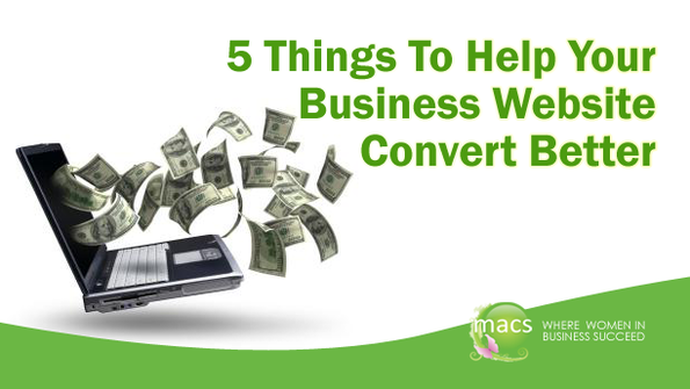 Website Conversion, macswomen, business tips