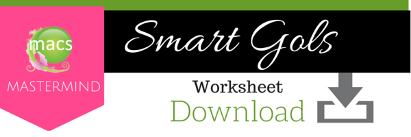 smart goals worksheet download