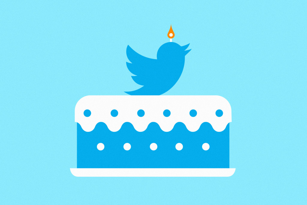 Twitter Turns 10years old today