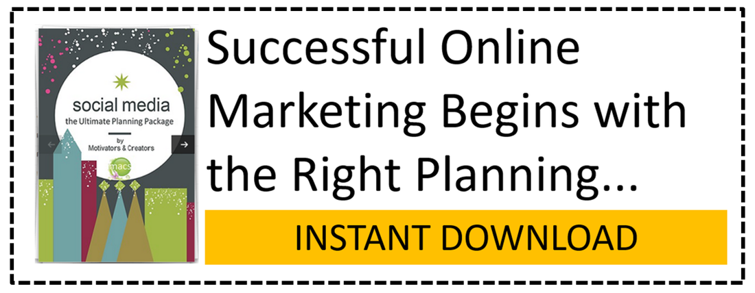 successful online marketing begins with the right planning. This ultimate social media pack is just what women business owners need to market their business online.