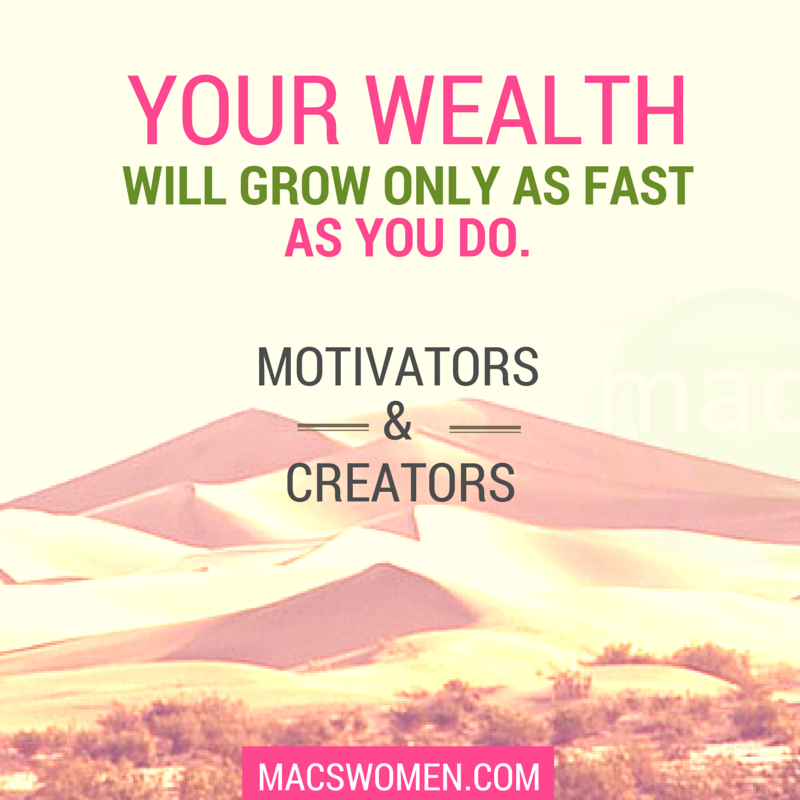 Grow yourself and your wealth as a woman