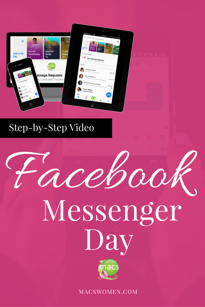 Facebook Messenger Day Video Tutorial