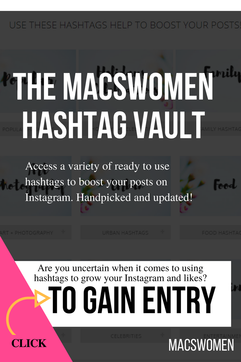 The hashtag vault for business women