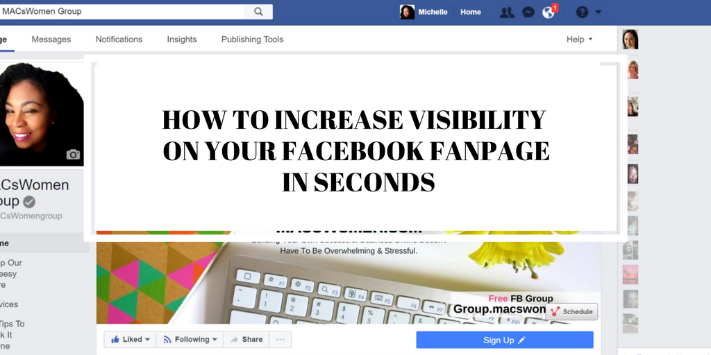 get more traffic to your facebook business page