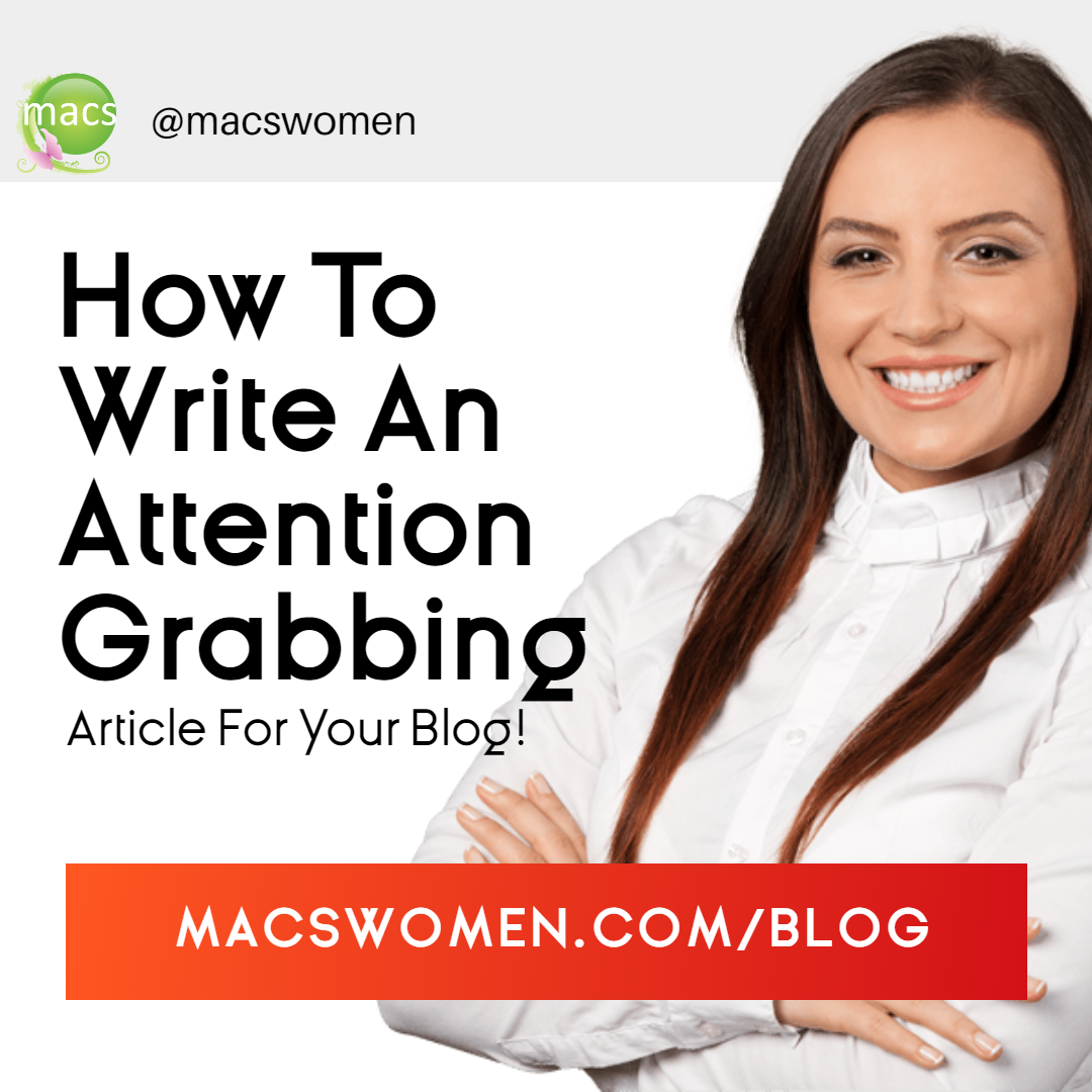How to write your next attention getting article for your blog