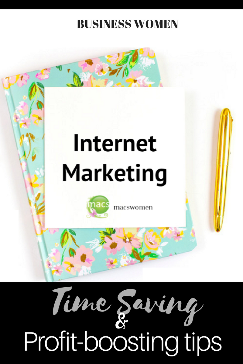 Internet marketing tips for business women