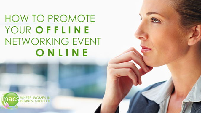 How to Promote Your Offline Networking Event Online